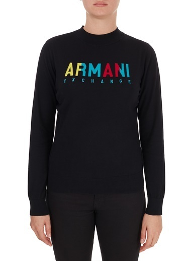 Armani Exchange ARMANI EXCHANGE KADIN KAZAK 6HYM1G-YMD4Z-1200 Siyah